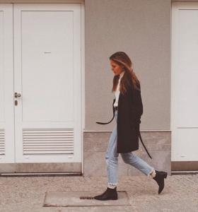 Bohemian girl around the streets ootd