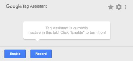 Google Tag Assistant Google Chrome Extension
